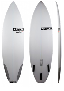 Pyzel Phantom XL Surfboard with 3 or 5 Future Fin Plugs