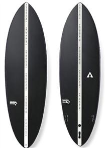 Haydenshapes Hypto Krypto F-Flex Surfboard, FCS Black