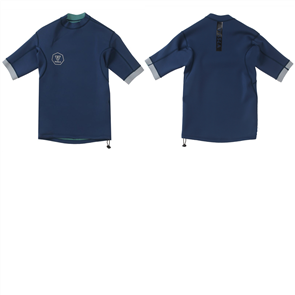Vissla Performance Short Sleeve Jacket, Dark Navy