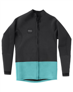 Vissla 2Mm Front Zip Jacket, Phantom