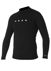 Peak 1.5mm Energy Long Sleeve Wetsuit Jacket, Black