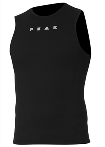 Peak 1.5mm Energy Sleeveless Wetsuit Vest, Black