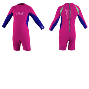 Oneill TODDLER O'ZONE Long Sleeve SPRING Suit, Fox Pink