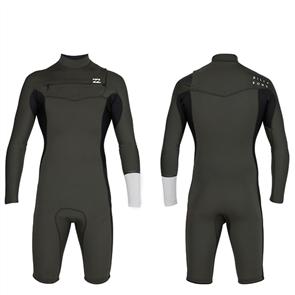 Billabong 2/2mm Revolution Gbs Long Sleeve Spring Suit, Dark Olive
