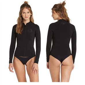 Billabong Peeky Jacket - 1Mm Long Sleeve, Black