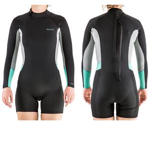 Peak Womens Energy Long Sleeve Spring Suit, 0090 Black
