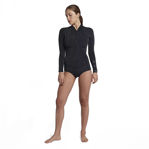 Hurley Advantage Plus 2/2mm Long Sleeve Spring Suit, Black