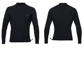 Billabong Pro Series Airlite - 1/1Mm Long Sleeve Jacket, Black