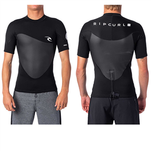 Rip Curl Omega 1.5Mm Short Sleeve Jacket, Black