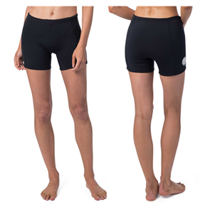 Rip Curl Womens Dawn Patrol 1Mm Neo Shorts, Black