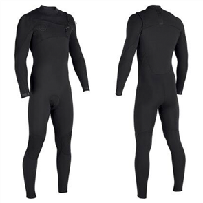 Vissla SEVEN SEAS 4/3mm Steamer FULL CHEST ZIP, Stealth
