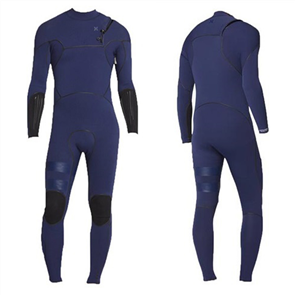 Hurley ADVANTAGE MAX 3/3MM ZIP FREE FULL SUIT STEAMER WETSUIT, Navy