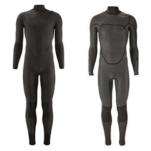 Patagonia Men's R1 Lite Yulex Chest Zip Full Suit, Black