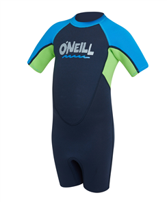 O'Neill BOYS TODDLER REACTOR BZ SS SPRING 2MM SS SPRINGSUIT, ABYSS/DGLO