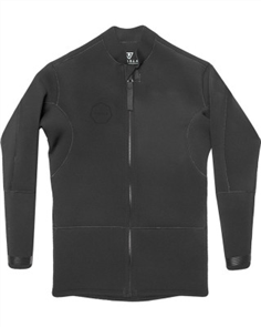 Vissla 2Mm Front Zip Jacket, Stealth