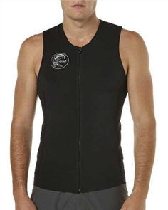 Oneill Original Zip Through Vest, Black