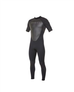 Oneill Reactor Ii Short Sleeve Full 2Mm Steamer, Black