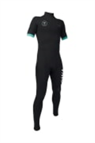 Vissla 7 SEAS BOYS 2-2 SS FULL SUIT STEAMER, Black