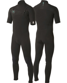 Vissla 7 SEAS 2-2 SS FULL SUIT STEAMER, Black