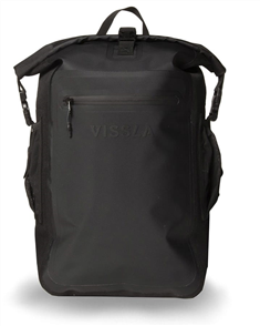 Vissla North Seas 18L Dry Backpack, Black