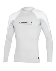 Oneill O' Zone Long Sleeve Crew, Cool Gry Wht
