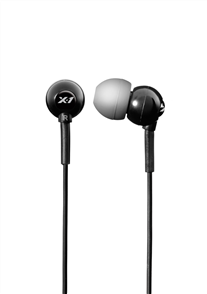 US X1 Flex In-Ear Sport Waterproof Headphones, Black