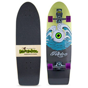 "SmoothStar Holy Toledo 33"" Surf Skateboard, Holy Toldeo"
