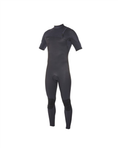 Oneill Hyperfreak Comp Short Sleeve Full 2Mm Steamer, Black