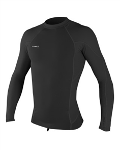 Oneill Hyperfreak 0.5Mm Neo-Skins Long Sleeve Crew, Black