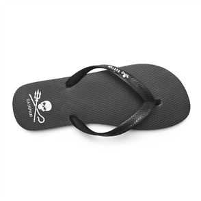 Kustom Sea Shepherd Jandals, Black