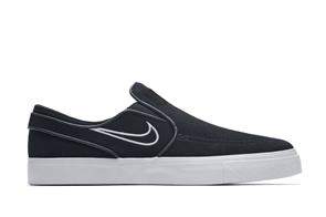 Nike SB Zoom Stefan Janoski Slip, Black Light Bone White