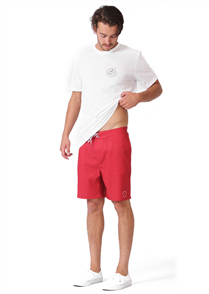 RPM Surf Short, Red