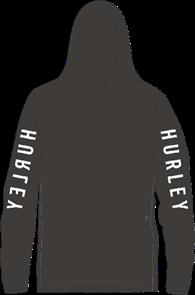 Hurley The One Long Sleeve Long Sleeve T-Shirt, 010