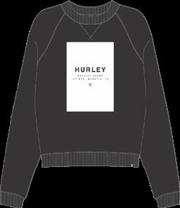 Hurley Rollie Crew Fleece, 00A