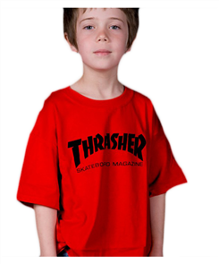 Thrasher Skate Mag Youth Tee, Red