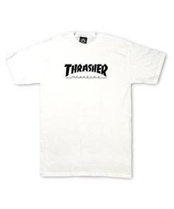 Thrasher Skate Mag Youth Tee, White