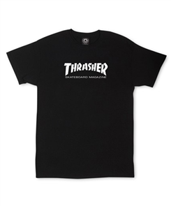 Thrasher Toddler Tee, Black
