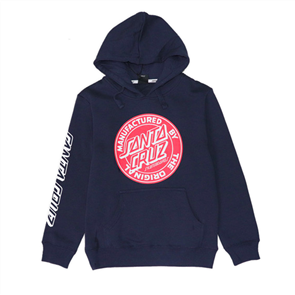 Santa Cruz Original Dot Fill Pop Youth Hood, Navy