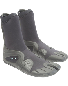 Vissla SEVEN SEAS 3MM SPLIT TOE BOOTIE Wetsuit Booties & Socks, Black