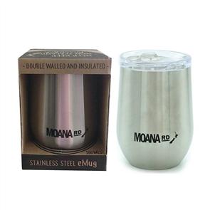 Moana Rd Emug - Reusable Mug, Silver