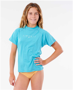Rip Curl GIRLS GOLDEN RAYS S/SL SURFSUIT, LIGHT YELLOW
