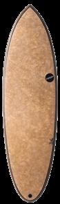 NSP Coco Hybrid Foil Surfboard, Flax
