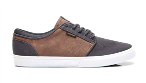 Kustom Remark 2 Shoe, Grey Brown