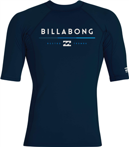 Billabong Tri Uniity Short Sleeve Rashie, Indigo