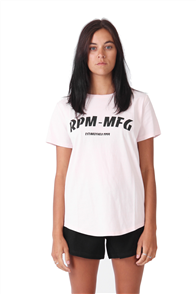 RPM Pavement tee, Dusty Pink