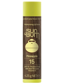 Sunbum SPF15 Lip Balm, Pineapple