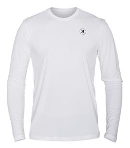 Hurley Dri-Fit Icon Long Sleeve Rash Vest 10A