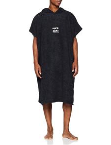 Billabong Mens Hoodie Towel, Black