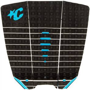 Creatures Of Leisure MICK FANNING GRIP PAD, BLACK CYAN
