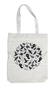 Moana Rd Coromandel Canvas Tote - NZ Birds